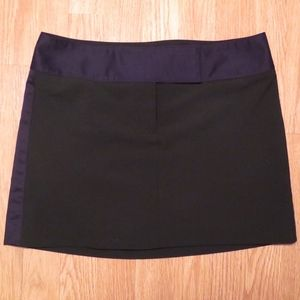 Express Design Studio Black Mini Skirt